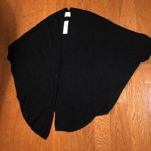 Anthropologie black cardigan